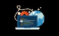 网页设计-网站改版维护现有排名